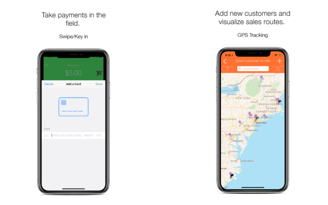 inSitu Sales: Allow field reps to handle mobile invoicing and payment processing, and managers to optimize routes, track, and create customer lists.