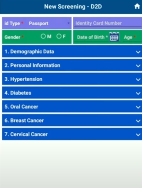 NHCircle patient screening
