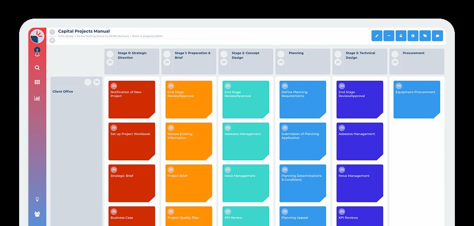 Method Grid screenshot: Method Grid methodology capture