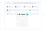 AudienceView Professional screenshot: Easily process transactions in a few easy steps with QuickSell+ to decrease wait times at your box office and improve the customer experience.