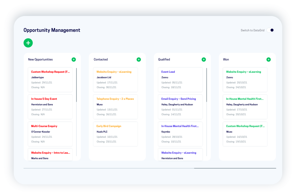 accessplanit Software - accessplanit opportunity management