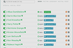 Cloverleaf screenshot: Team results are cross-mapped to visualize relationships