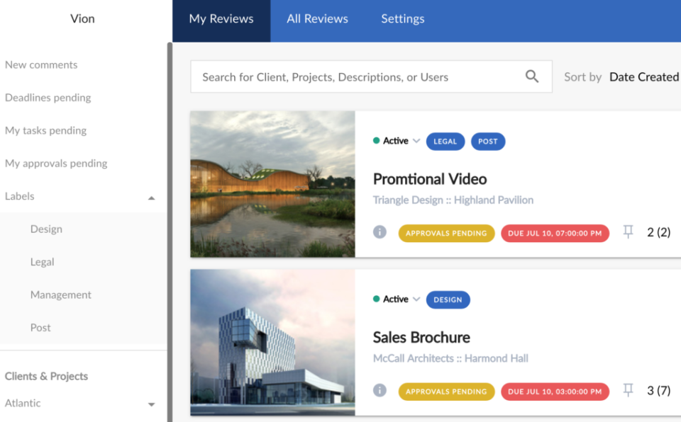 ReviewStudio Software - ReviewStudio review tracking
