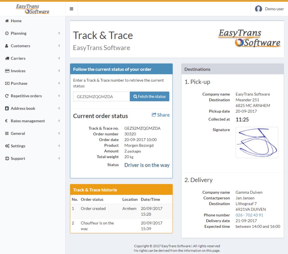 EasyTrans Software - 2