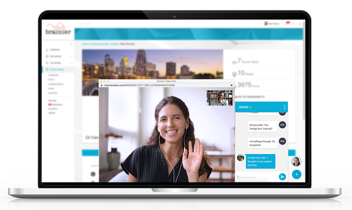 Video Chat Tools (group chat, video chat, screen-share, text chat)