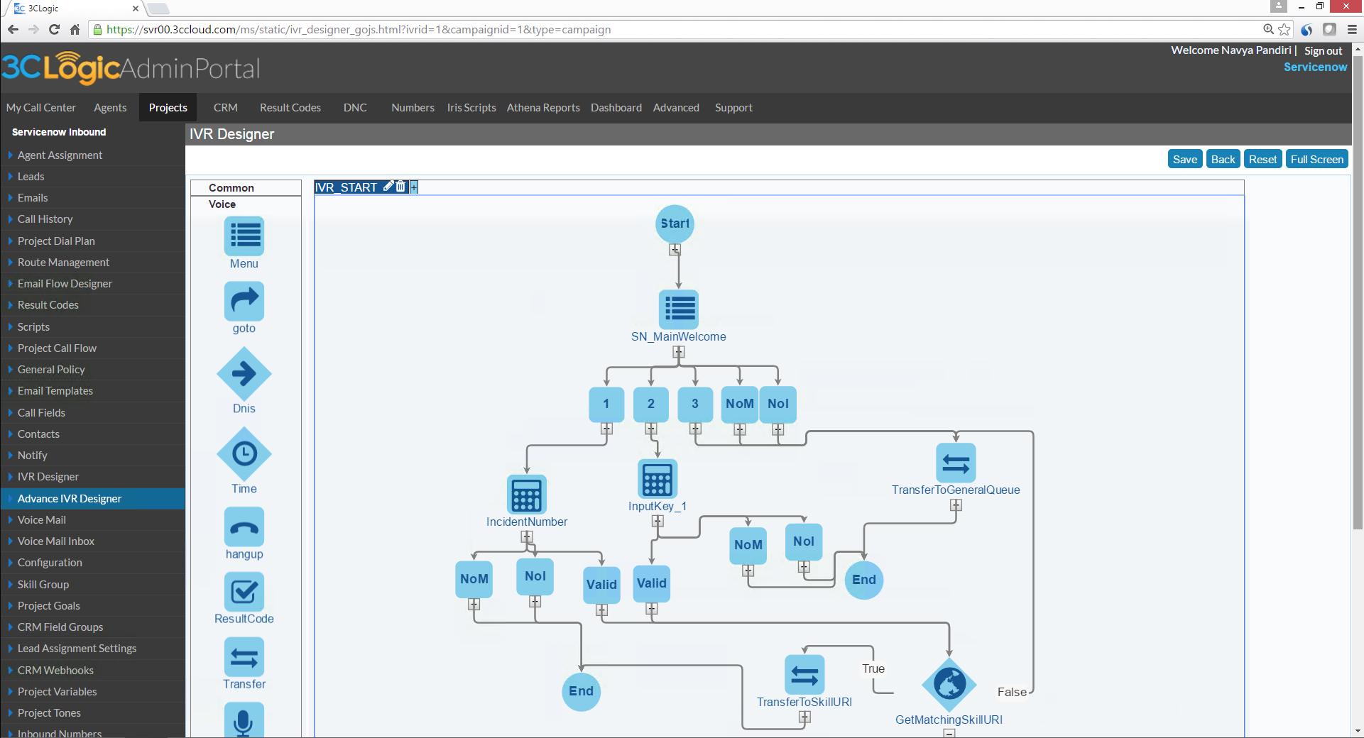 3CLogic Software - IVR designer