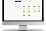 The Flybook screenshot: An integrated Point of Sale (POS) system enables the processing of secured online payments via the Authorize.net gateway, full product logic configurations and accounting reporting on inventory, sales etc