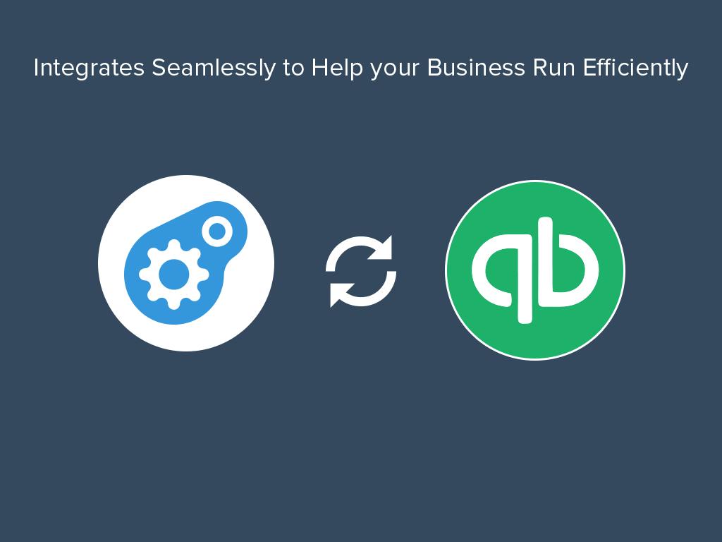 Integrates with QuickBooks Online, QuickBooks Windows, Xero and AccountEdge.