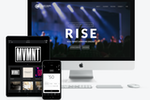 Subsplash screenshot: Create a customized website and mobile app for your church