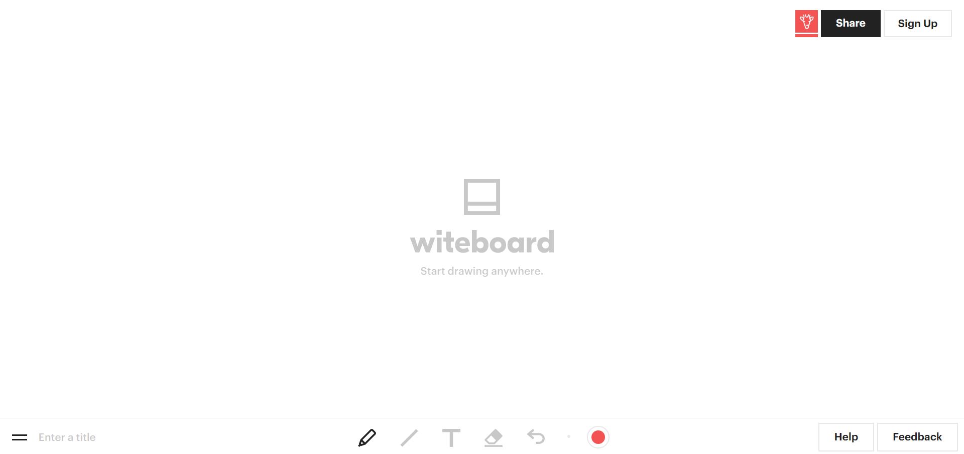 Witeboard main whiteboard
