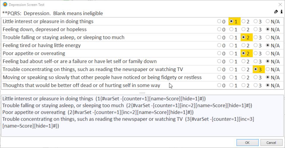 PhraseExpander screen test
