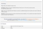 Capture d'écran pour Netsurion Managed Threat Protection : EventTracker: Sample alert