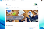 Huddle screenshot: Fully brandable collaborative workspaces