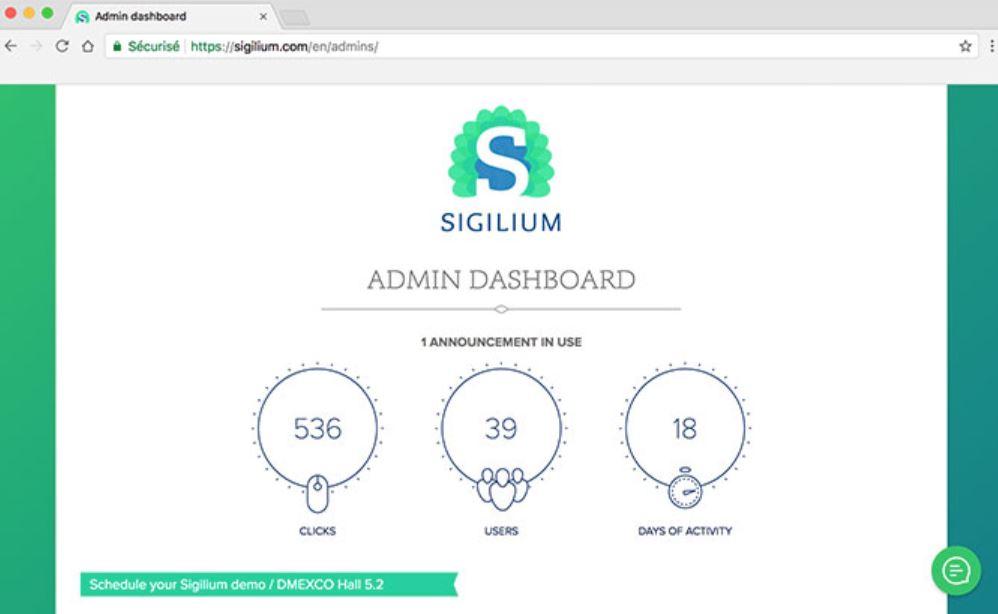 Sigilium dashboard