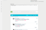Meltwater screenshot: Our advanced and easy to use 'boolean search' system helps you cut through the noise and find the conversations most relevant to you.