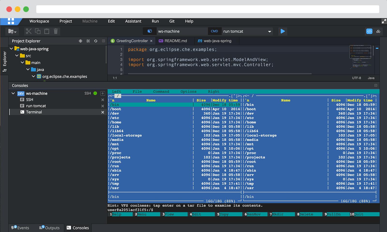 Codenvy Software - Desktop IDE