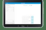 Capture d'écran pour eHopper : Accept card or cash payments