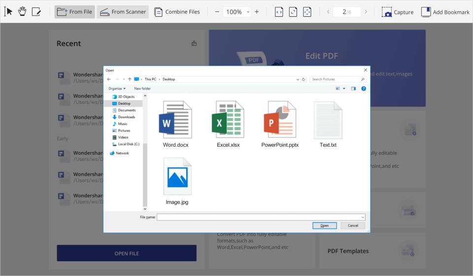 PDFelement Software - 5