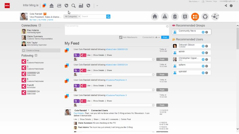 See who's doing what via the collaboration dashboard  and collaborate with team members
