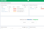 SanerNow screenshot: SanerNow endpoint detection and response (EDR)