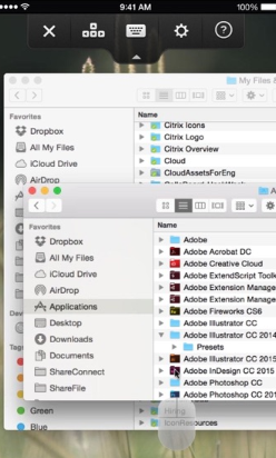GoToMyPC screenshot: GoToMyPC access multiple files & applications