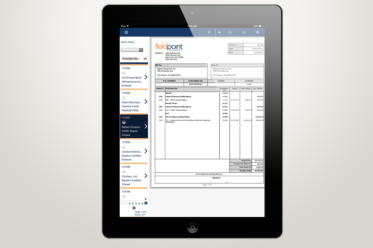 Optimize cash flow and corporate reporting capabilities thanks to customer Billing/ERP integration with Microsoft Dynamics GP