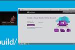 Microsoft Visual Studio screenshot: Microsoft Visual Studio Online Login