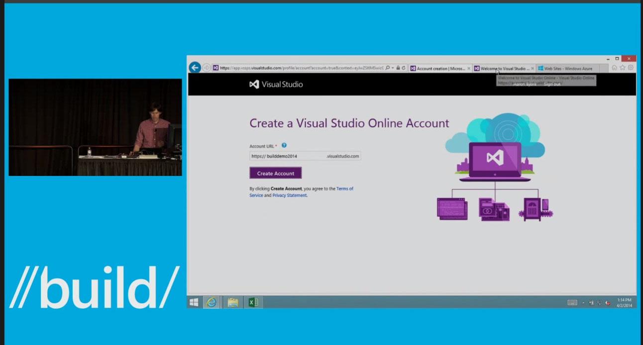 Microsoft Visual Studio Online Login
