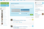 Motivosity screenshot: Motivosity enables users to publicly send each other recognition and rewards