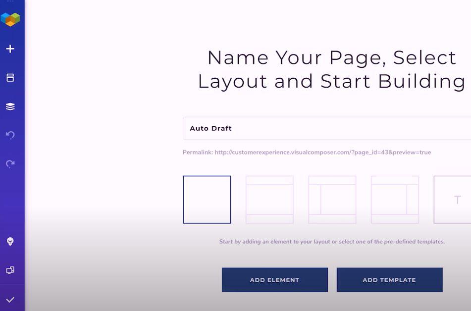 Visual Composer create websites