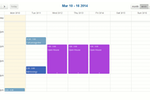ampEducator screenshot: Manage scheduling with ampEducator's integrated calendar