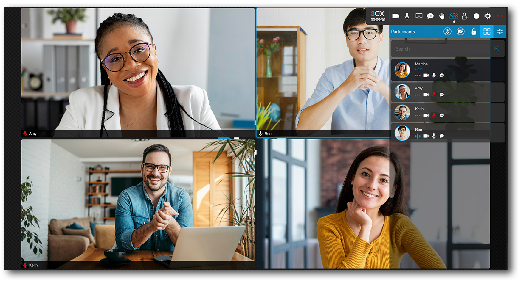 3CX Software - video conference