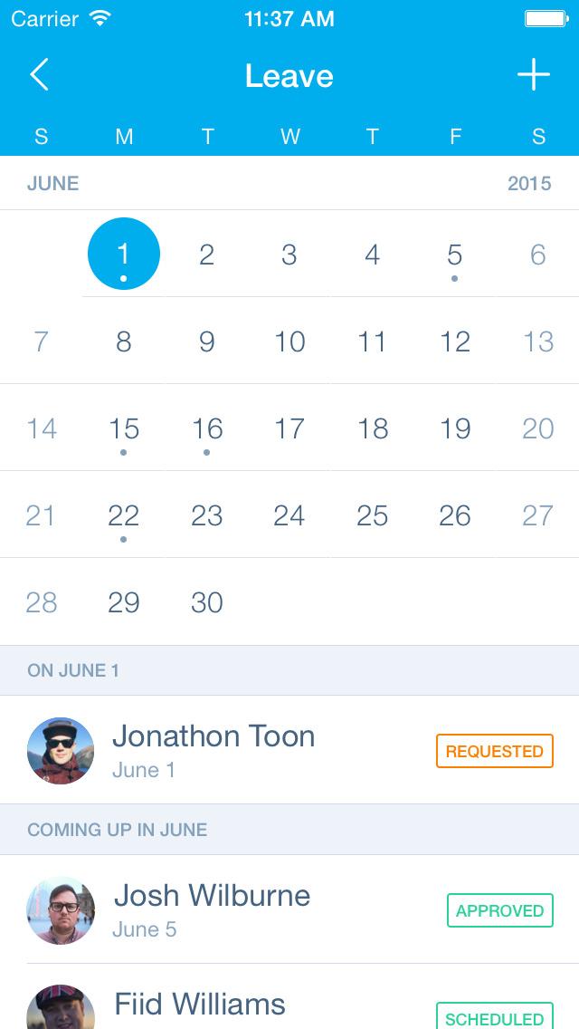Xero Calendar