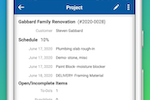 Contractor Foreman screenshot: Work from the field or from the office - it doesn't matter.  Your product details are available where you are.