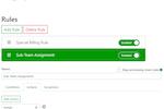Emailgistics screenshot: Emailgistics assignment management