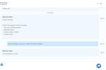Captura de pantalla de eXo Platform: Chat