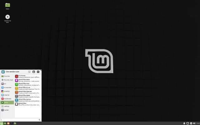 Linux Mint Xfce edition
