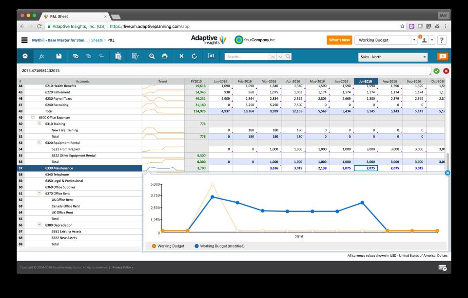 Adaptive Planning Software - 1