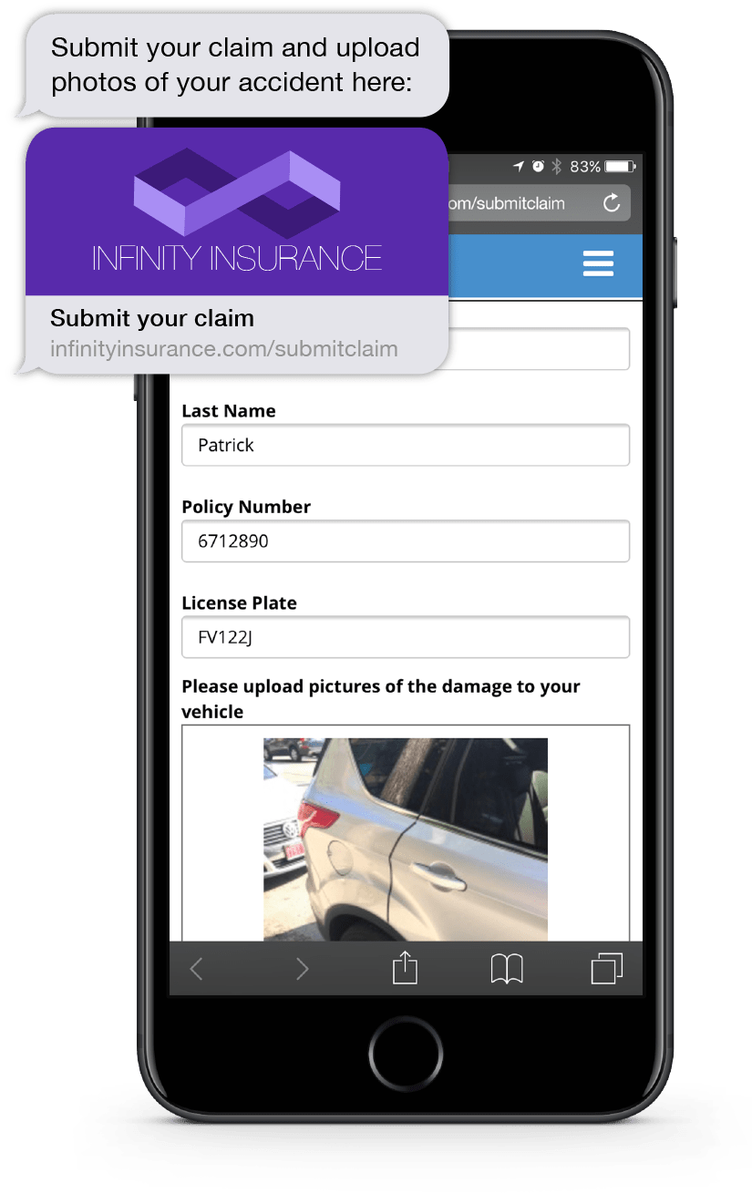 The Instant Apps feature lets users build and send forms, capture signatures, photos, and more from customers via mobile devices