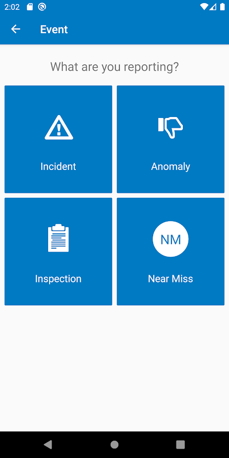 Enablon Incident Management report events