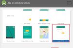 PixelPin screenshot: PixelPin adding mobile activity screenshot