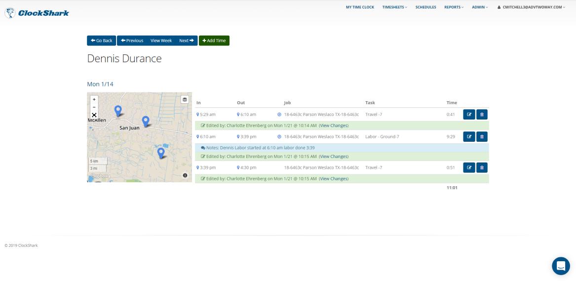 ClockShark Software - GPS tracking
