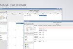 i4a AMS screenshot: The calendar builder enables associations to setup a scheduling calendar suitable for managing and planning events