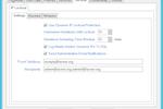 PortalGuard screenshot: IP Lockout Settings