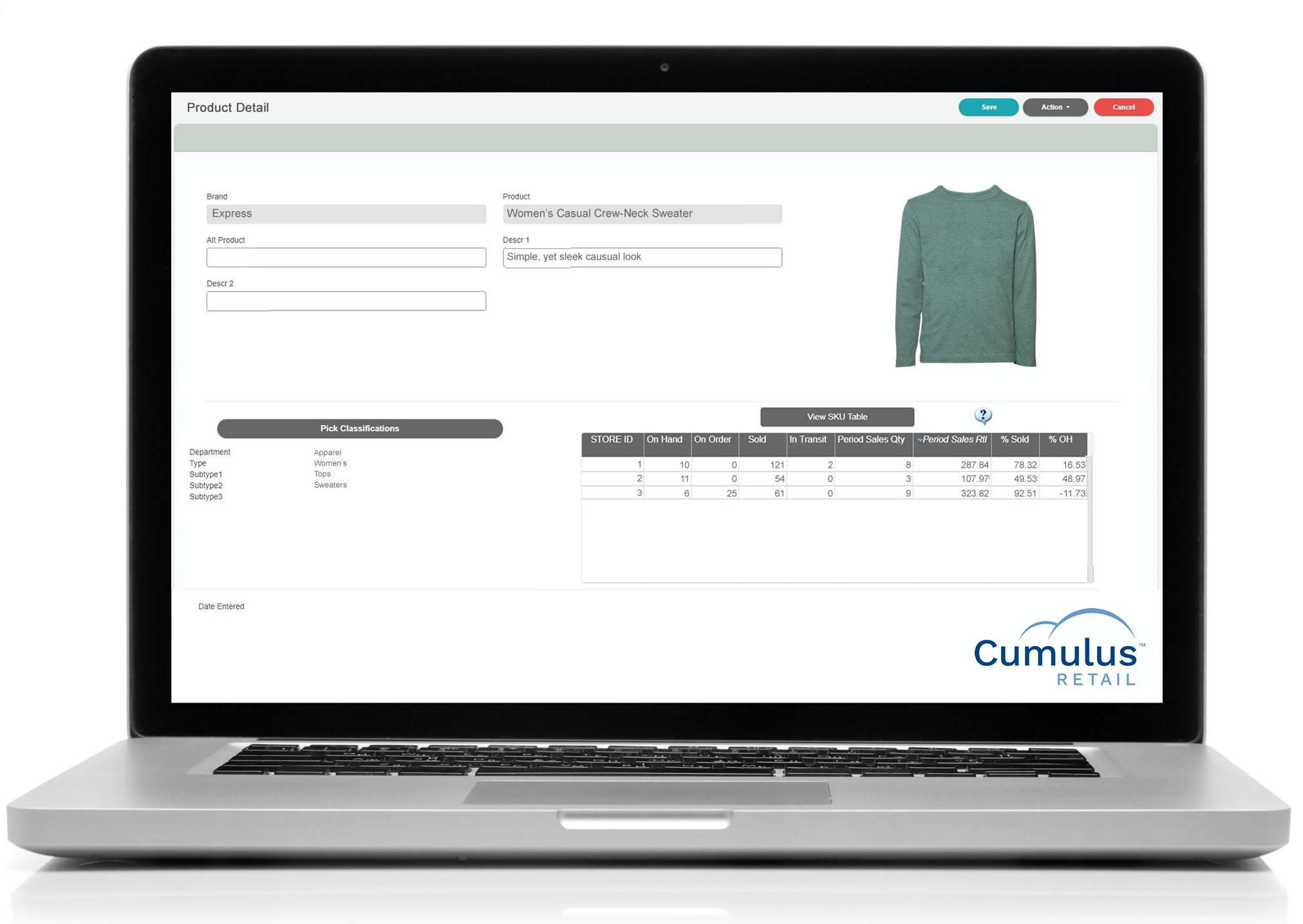 Manage all your purchasing with ease, within Cumulus Retail.  Integrate with your vendors for automated ordering based on min/max inventory levels.