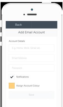 MailWasher mobile account screenshot