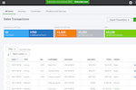 Quickbooks Online screenshot: Sales can be tracked including overdue payments, open invoices, unbilled activity, and more