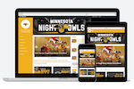 SportsEngine screenshot: SiteBuilder produces responsive website themes that ensure every team site is optimized for viewing consistently across varying screen sizes