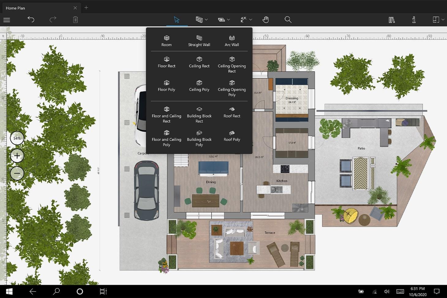 Live Home 3D floor plans
