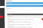 Invotide screenshot: Invotide add modules